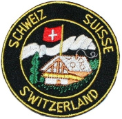Switzerland Suisse Swiss Travel Souvenir Patch