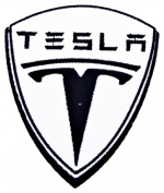 TESLA Motor Electric Cars T Shirts CT06 Iron on Patches