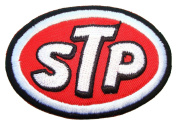 STP Gas Oil fuel treatment Drag Racing Logo t Shirts GS12 Patches
