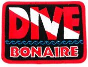 Dive Bonaire Patch Embroidered Iron On Scuba Diving Flag Emblem Souvenir