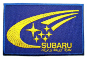 SUBARU World Rally Team Accessories Logo Clothing CS06 Patches