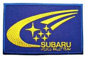 SUBARU World Rally Team Accessories Logo Clothing CS06 Patches