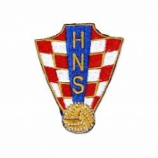 Croatia Hrvatska Hns Fifa World Cup Soccer Iron on Patch Crest Badge ... 6.4cm X 5.1cm .. New