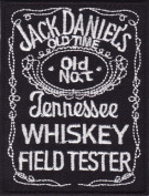 Jack Daniel's Embroidered Iron on Patch X48