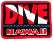 Dive Hawaii Patch Embroidered Iron On Scuba Diving Flag Emblem Souvenir