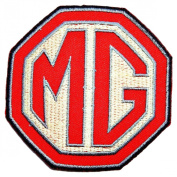 MG Motor Cars Club Convertible Roadster Logo T Shirts CM13 Patches