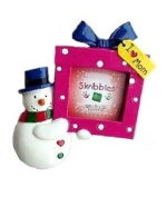I Love My Mom Dad Grandma Grandpa Brother Sister Photo Christmas Ornaments