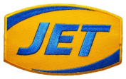 JET Gas Station Fuel Logo Clothing GJ01 Iron On Patches