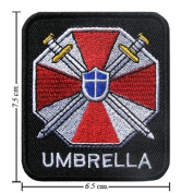 Resident Evil Umbrella Logo Patch