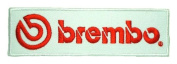 BREMBO brakes rot0rs calliper motorcycle Logo PB07 Iron on Patches
