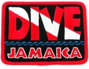 Dive Jamaica Patch Embroidered Iron On Scuba Diving Flag Emblem Souvenir