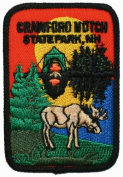 Crawford Notch State Park Travel Souvenir Iron On Patch