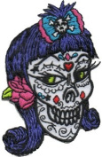 Reed Artist Novelty Patch - Sugar Candy Skull Miss Veronica Applique