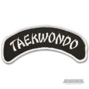 AWMA Arch 3.8cm X 13cm Patch - Tae Kwon Do