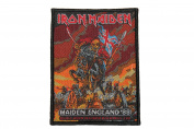 Iron Maiden Maiden England 88 Heavy Metal Music Band Woven Applique Patch