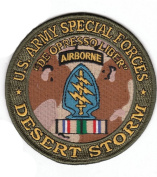 Special Forces Desert Storm Patch