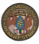 Special Forces Desert Storm Patch
