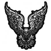 Tribal Eagle Embroidered Jacket Vest Biker [13cm ] Patch