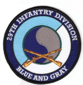 29th Infantry Division with Rifles Patch