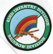 42nd Infantry Division with Rifles Patch