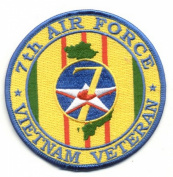 7th Air Force Vietnam Veteran Patch