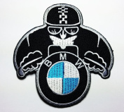 Bmw Racing Patches 8x8.5 Cm Sew/iron on Patch to Cloth, Jacket, Jean, Cap, T-shirt and Etc.