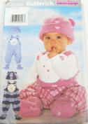Butterick 5160 - Infant Jumpsuit, Hat & Booties - Size L-XL