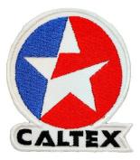 Caltex Oil petroleum gas stations Logo Shirts GC06 Iron on Patches
