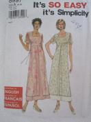 Simplicity Pattern 8997 Misses'/Miss Petite Dress Sizes 8-18