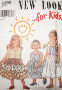 SIMPLICITY SEWING PATTERN 6366 ~ Little Girl Sundress