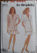 Smplicity It's So Easy Pattern 7671 Misses Jacket and Skirt Sizes 8-20