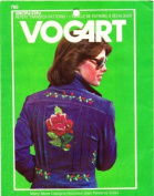 Vogart 760 Embroidery Transfer Pattern Rose and Many Other Flowers