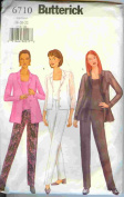 New Butterick-Shirt, Camisole & Pants-6710-size-18-20-22