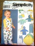 SIMPLICITY 9275 SEWING PATTERN - BABY LAYETTE SZ XXS-XS-S-M-L UNCUT SEWING PATTERN