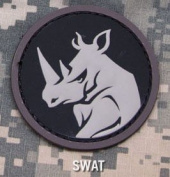 Mil-Spec Monkey Rhino Head Morale Patch-Swat