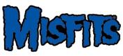 The Misfits Rock Music Band Patch - Blue Logo - Applique