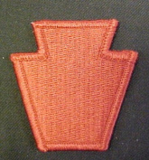 28th Infantry Division Full Colour Dress Patch