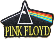 PINK FLOYD Logo Dark Side Of The Moon Rock Music Band Jacket T-shirt Patch Sew Iron on Embroidered Badge Sign