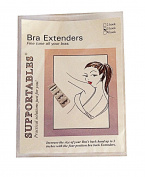 Supportables 3 Hook Bra Extenders
