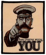 Your Country Needs You Embroidered Patch 10cm x 12cm