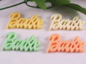 20pcs Resin Flatback Letters the Button Scrapbooking DIY Craft Applique