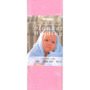 5.1cm Satin Blanket Binding Pink