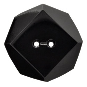 Glass Octagon 2-Holes Button by each