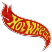 Hot Wheels Logo Hot Rod Toy Auto Racing Car Patch