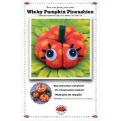 La Todera Patterns-Winky Pumpkin Pincushion