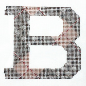 Rhinestone Iron on Transfer Hot Fix Motif Checker Deco Design 3 Sheets 5.6* 13cm