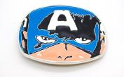 Captain America Face Marvel Licenced Belt Buckle