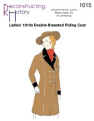 Ladies' 1910s Double-Breasted Riding Jacket Pattern