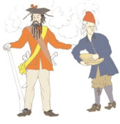 1690-1740's Common Man or Sailor's Jacket Pattern