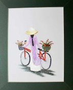 Hand Embroidered Painting - Made in Vietnam- SEP44